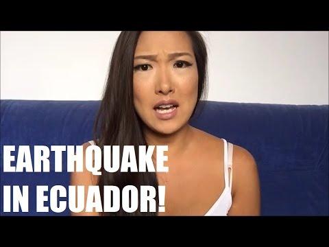 EARTHQUAKE IN ECUADOR! TERREMOTO EN ECUADOR!   Storytime