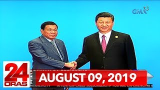 24 Oras Express: August 9, 2019 [HD]
