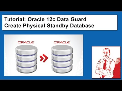 Oracle 12c Data Guard Create Physical Standby Database