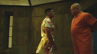 The Punisher & Wilson Fisk - Fight Scene (In the Prison) | Daredevil 2x09 | 2016 (HD)