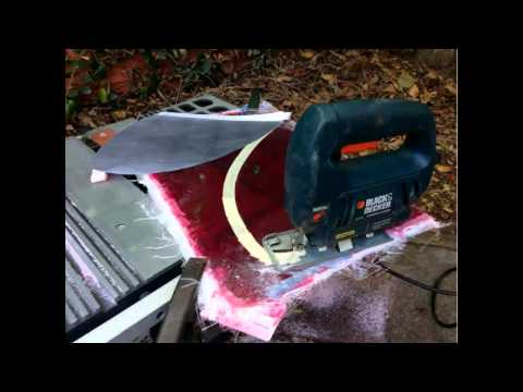 How to make a Fiberglass Fin for your Surfboard