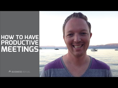 How to Have Productive Team Meetings