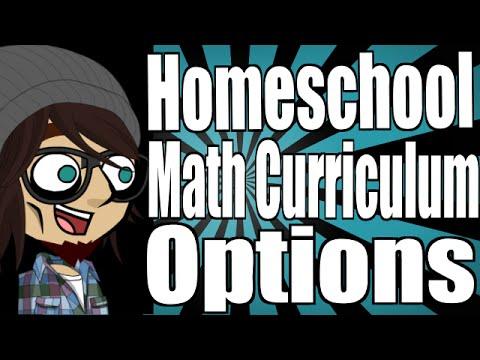 Homeschool Math Curriculum Options