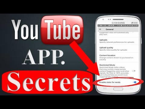 8 YOUTUBE APP SECRET SETTINGS - Hidden Features You Need To See 2017-2018!
