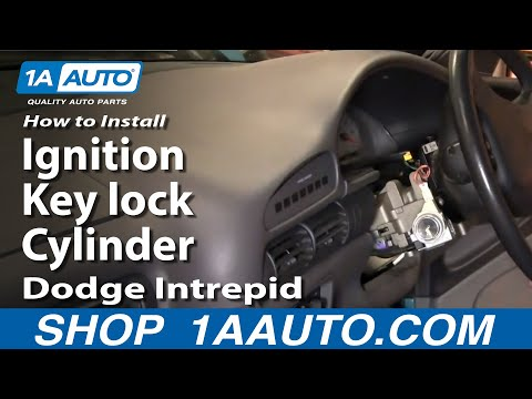 How To Install Replace Fix Ignition Key lock Cylinder Dodge Intrepid 93-97 1AAuto.com