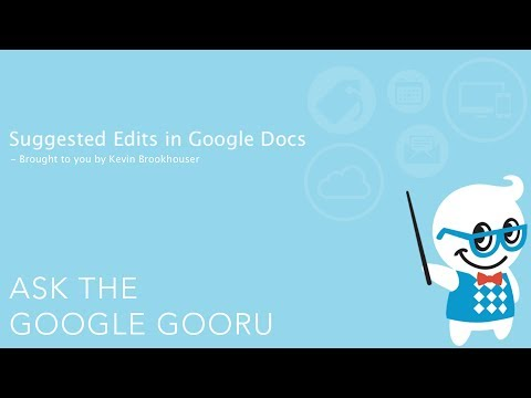 Suggested Edits in Google Docs