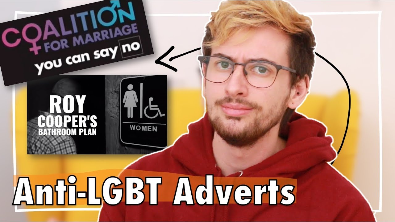 Trans Guy Reacts to Anti-LGBT Adverts