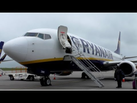 Ryanair Boeing 737-8AS | FR203 Stansted to Dublin Airport | Full Flight