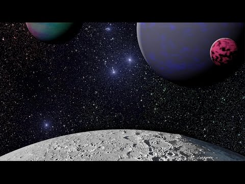 GIMP 2.8 3D Creating Outer Space & Planets