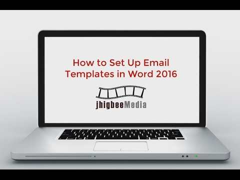 How to Set Up Email Templates in Outlook 2016