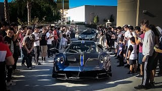 The $5 Million Pagani Huayra BC is a Crowd Pleaser