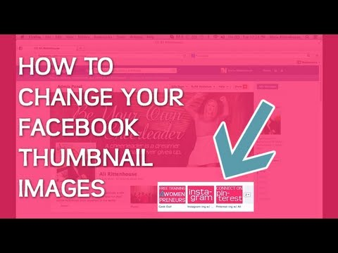 How to Update Facebook Thumbnail Images