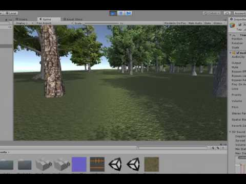 Adding sounds to Unity