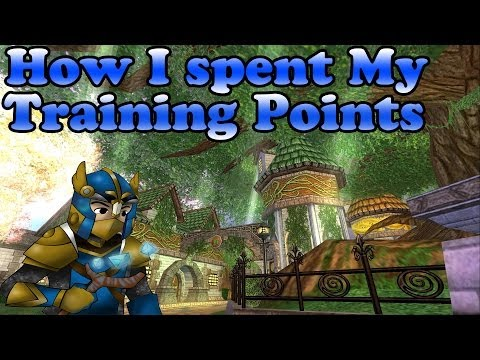 Wizard101: How I Spent My Training Points