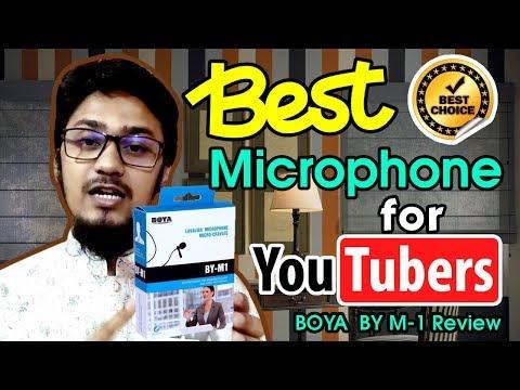 BOYA BY M-1 Lavalier Microphone | Best Microphone For Youtuber | Best Microphone for Smartphone