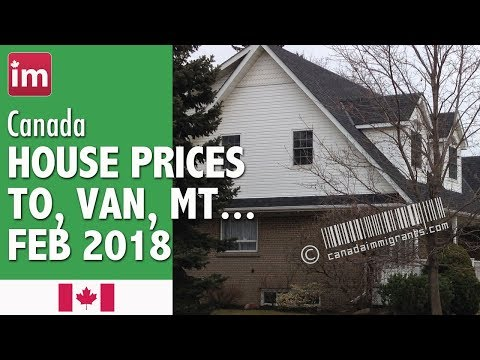 Canada House Prices (February 2018) | Cost of Living in Canada