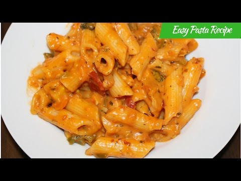 Easy Pasta Recipe-How To Make Italian Pasta-Vegetable Cheesy Penne Pasta Recipe By Harshis Kitchen