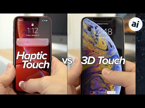 Haptic Touch vs 3D Touch - Is iPhone XR missing out?