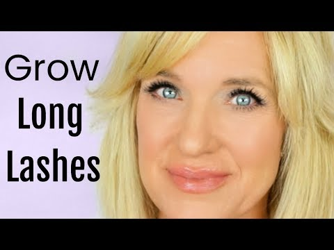 How To Grow EYELASHES & EYEBROWS! (FAST!)