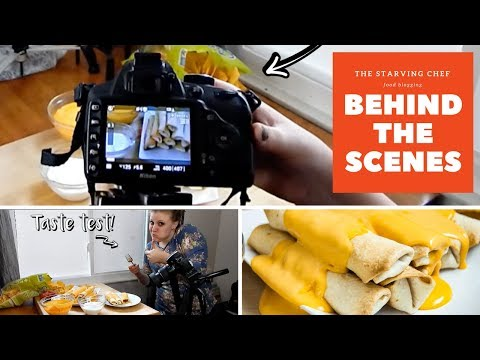 The Starving Chef BEHIND THE SCENES   Inside the Life of a Food Blogger