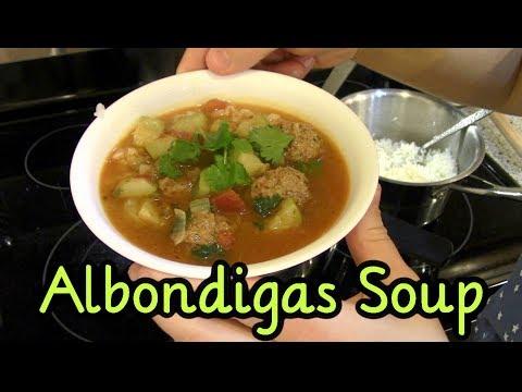 Albondigas ~ Mexican Meatball Soup Recipe