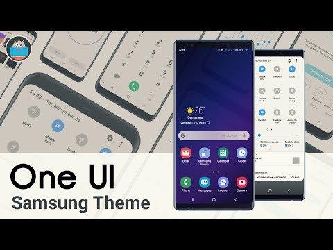 One UI | New Samsung Theme