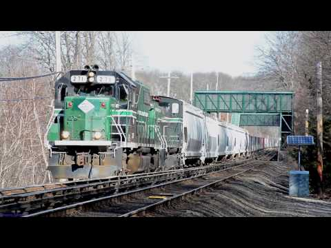 NYAR/LIRR PTC Braking Test Train (Port Jefferson Branch)