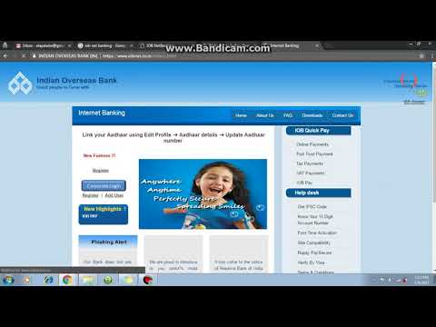 How to Register IOB (Indian Overseas Bank) Online Internet Banking