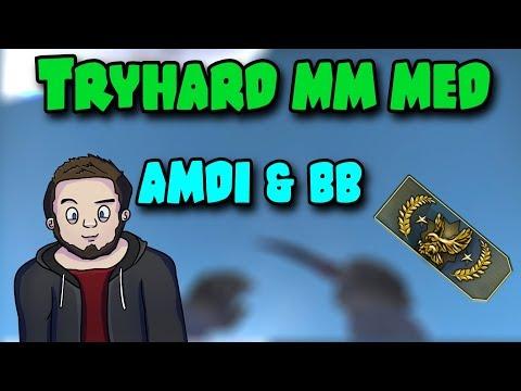 CSGO - TRYHARD MM MED AMDI OG RASMUSBB (DANSK)
