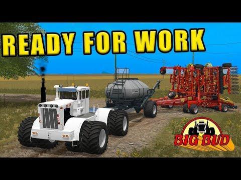 WE TRADED FOR A RESTORED BIG BUD! KT 450 | WELKER FARMS | EP#2 | FARMING SIMULATOR 2017