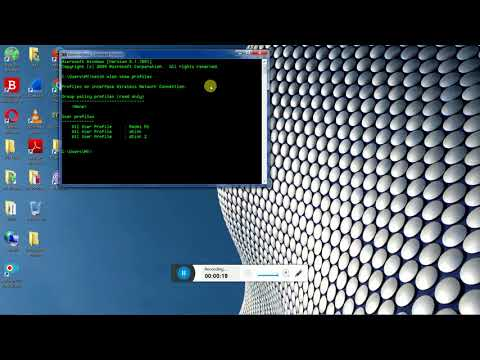 how to know ur wifi password using cmd window xp,7,8,10 desktop/laptop