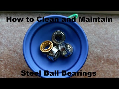 How to Clean a Yo-yo or Fidget Spinner Ball Bearing