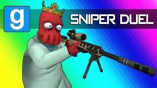 Gmod Sandbox - Epic Sniper Trickshots & Daithi De Camper! (Garry