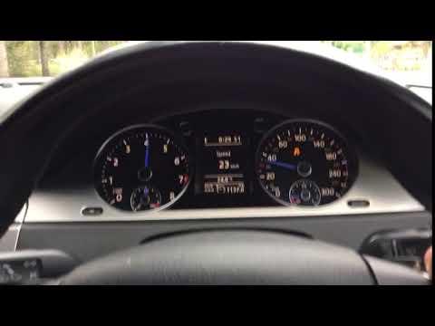 VW Passat R36 Launch control 0-100km/h acceleration