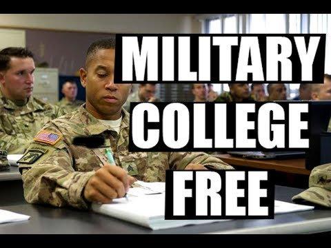 Military Pays For College??