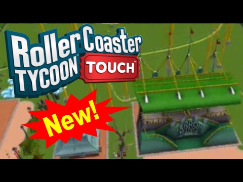BRAND NEW ROLLERCOASTER | Rollercoaster Tycoon Touch | RCT Touch