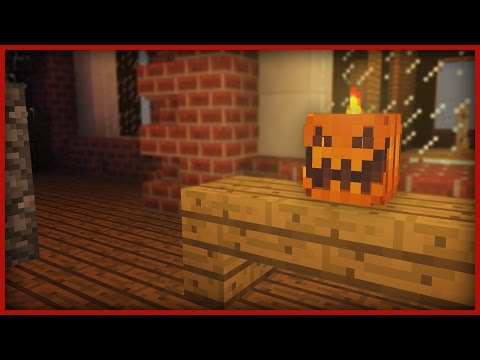 ☑ Minecraft: How to carve a Halloween Pumpkin!