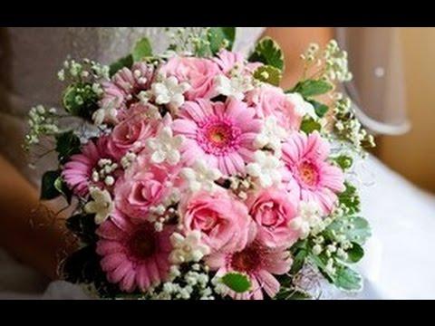 Gerbera Daisies Wedding Bouquet