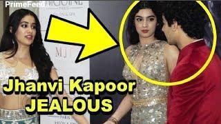 Jhanvi Kapoor JEALOUS Of Khushi Kapoor Getting Close To Ishaan Khattar