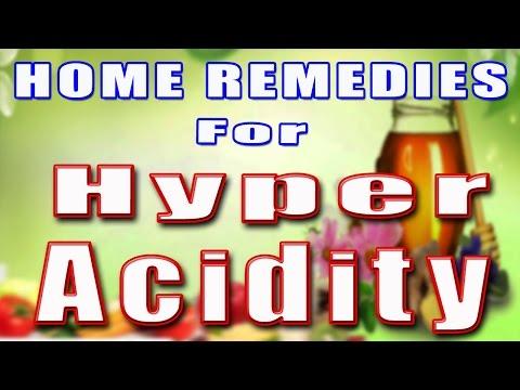 HOME REMEDIES FOR HYPER-ACIDITY II अतिअम्लता के लिए घरलू उपचार II
