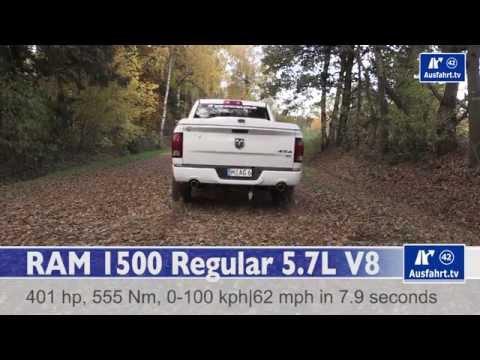 2015 RAM 1500 Regular 5.7L V8 - Tachovideo 0-100 km/h  Acceleration 0-62 mph Beschleunigung
