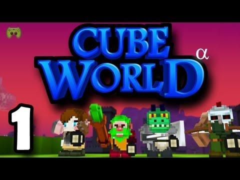 CUBE WORLD # 1 - Das Voxelabenteuer beginnt «» Let's Play Together Cube World | HD