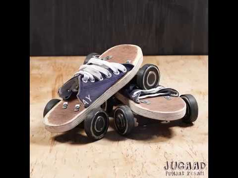 DIY Roller Skate Shoes