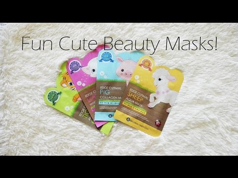 Animal Print Beauty Facial Masks