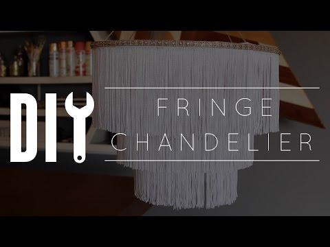 DIY Chandelier // Fringe