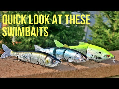 Swimbait Only Tournament?! Quick Look At A Few New Swimbaits & MTB Giveaway Winner Announced