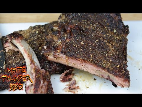 Pit Roasted Pork Ribs on the Pit Barrel Cooker | White Thunder BBQ