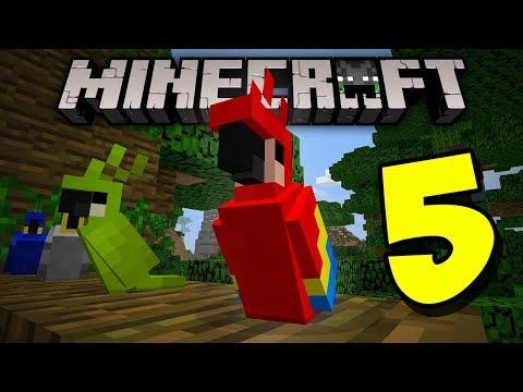 5 COSAS QUE NO SABÍAS DE LOS LOROS en Minecraft 1.2 | MCPE (Pocket Edition) TOP 5