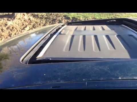 BMW E38 E39 Sunroof Fix  Sun Shade Removal And Glass Removal