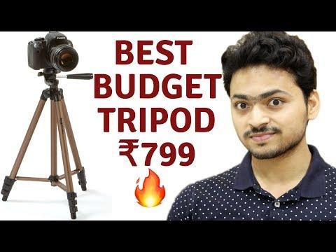 Best Budgaet Tripod | Amazon Basics Tripod at Rs799 | Tech Unboxing 🔥